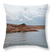 Look Closely - Window Rock Throw Pillow