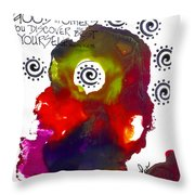 Look For Good In Others Throw Pillow