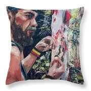 Look Into Another Dimension Throw Pillow
