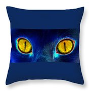 Look Into My Throw Pillow