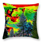 Look Into The Future 2 Throw Pillow