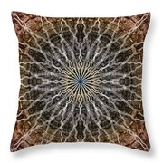 Look Into The Light Throw Pillow