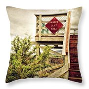 Look Out Throw Pillow