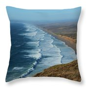 Look To The Horizon Throw Pillow