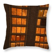 Look Up Lincoln Throw Pillow