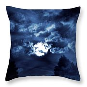 Look With A Pure Heart Throw Pillow
