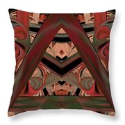Look Within - Abstract Throw Pillow
