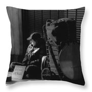 Looked The Other Way Throw Pillow