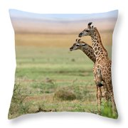 Looking Ahead Throw Pillow