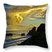Looking At The Sky Throw Pillow
