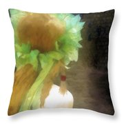 Looking Back - Long Lost Love Throw Pillow