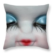 Looking Bashfully Throw Pillow
