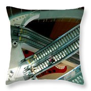 Looking Down - Revel Throw Pillow