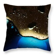 Looking Down To The Universe Throw Pillow