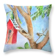 Looking For A Home Throw Pillow