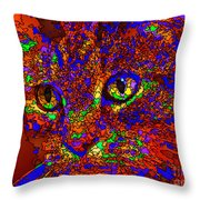Looking For An Owner. Pet Series Throw Pillow
