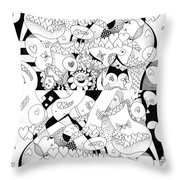 Looking For Love Take 1 Throw Pillow