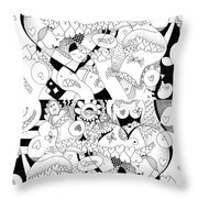 Looking For Love Take 2 Throw Pillow