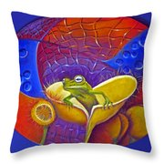 Looking For Miss Piggy Throw Pillow