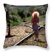 Looking For Mr. Right Throw Pillow