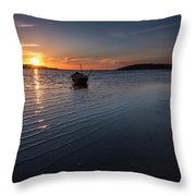 Looking For Night Throw Pillow