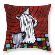 Looking For Something Hot  Throw Pillow