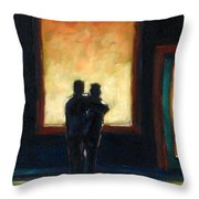 Looking In Looking Out Mini Throw Pillow