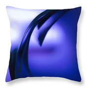 Looking Into The Future Throw Pillow