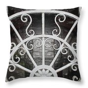 Looking Into The Vault Throw Pillow