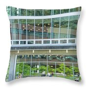 Looking Out, Looking In Throw Pillow