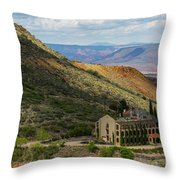 Looking Out Over The Hills Throw Pillow