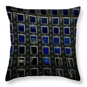 Looking Out Upon A Great City Throw Pillow