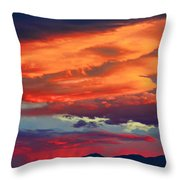 Looking To Boulder Throw Pillow