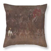 Looking To My Leader Throw Pillow