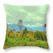 Looking To The Mountains Throw Pillow