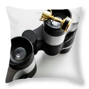 Looking To Win Throw Pillow