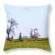 Looking Up The Union Line Throw Pillow