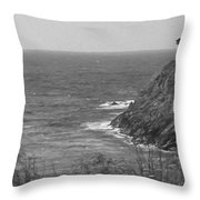 Looking West Throw Pillow