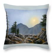 Lookout Rock Throw Pillow