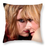 Looks Throw Pillow