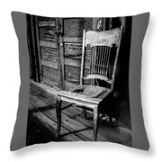 Loomis Ranch Chair Throw Pillow