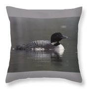 Loon 4 Throw Pillow