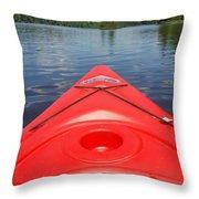 Loon Lake Reverie Throw Pillow