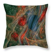 Loonie World Throw Pillow