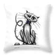 Loopy Tail Throw Pillow