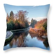 Loose Mill Pond Throw Pillow