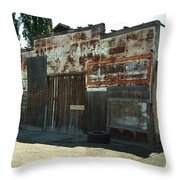 Lope Garage Throw Pillow