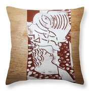 Lord Bless Me 1 - Tile Throw Pillow