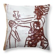 Lord Bless Me 10 - Tile Throw Pillow