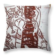 Lord Bless Me 11 - Tile Throw Pillow